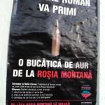 Roșia Montană afiș glonț