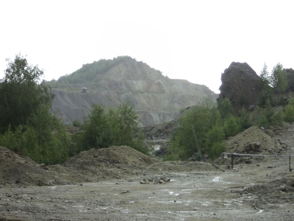 Roșia Montană cariera veche