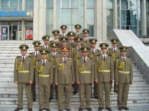 După avansare, împreună cu regretatul comandant al academiei, Generalul Uscoi