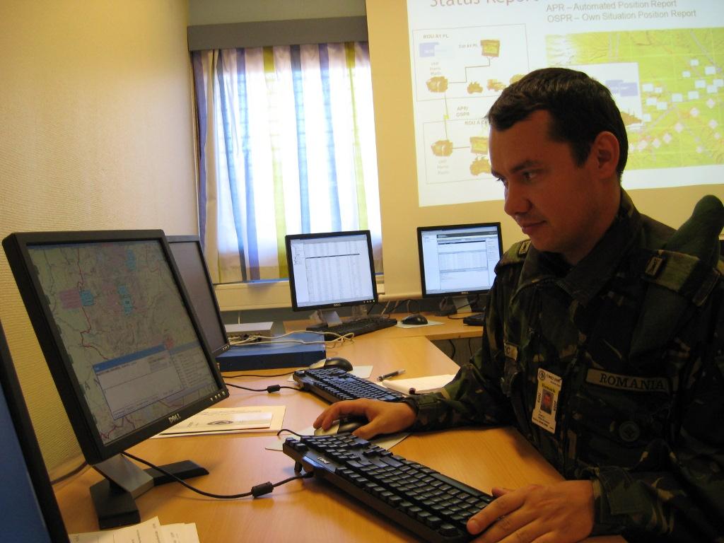 Exercițiu de comunicații în Norvegia