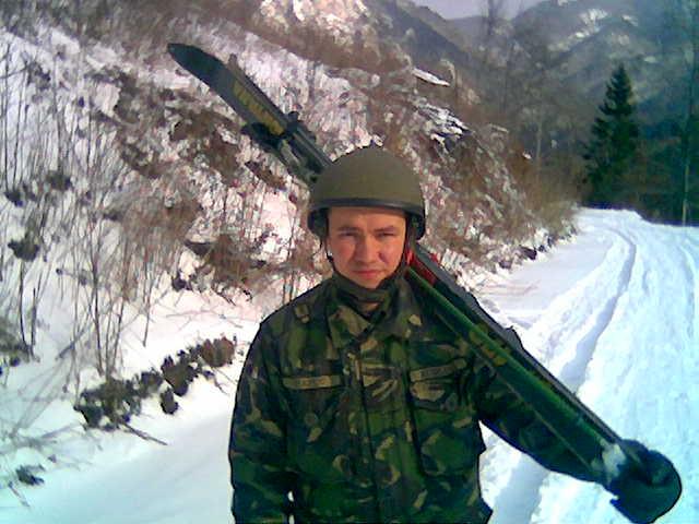 Prima iarnă la vânători de munte