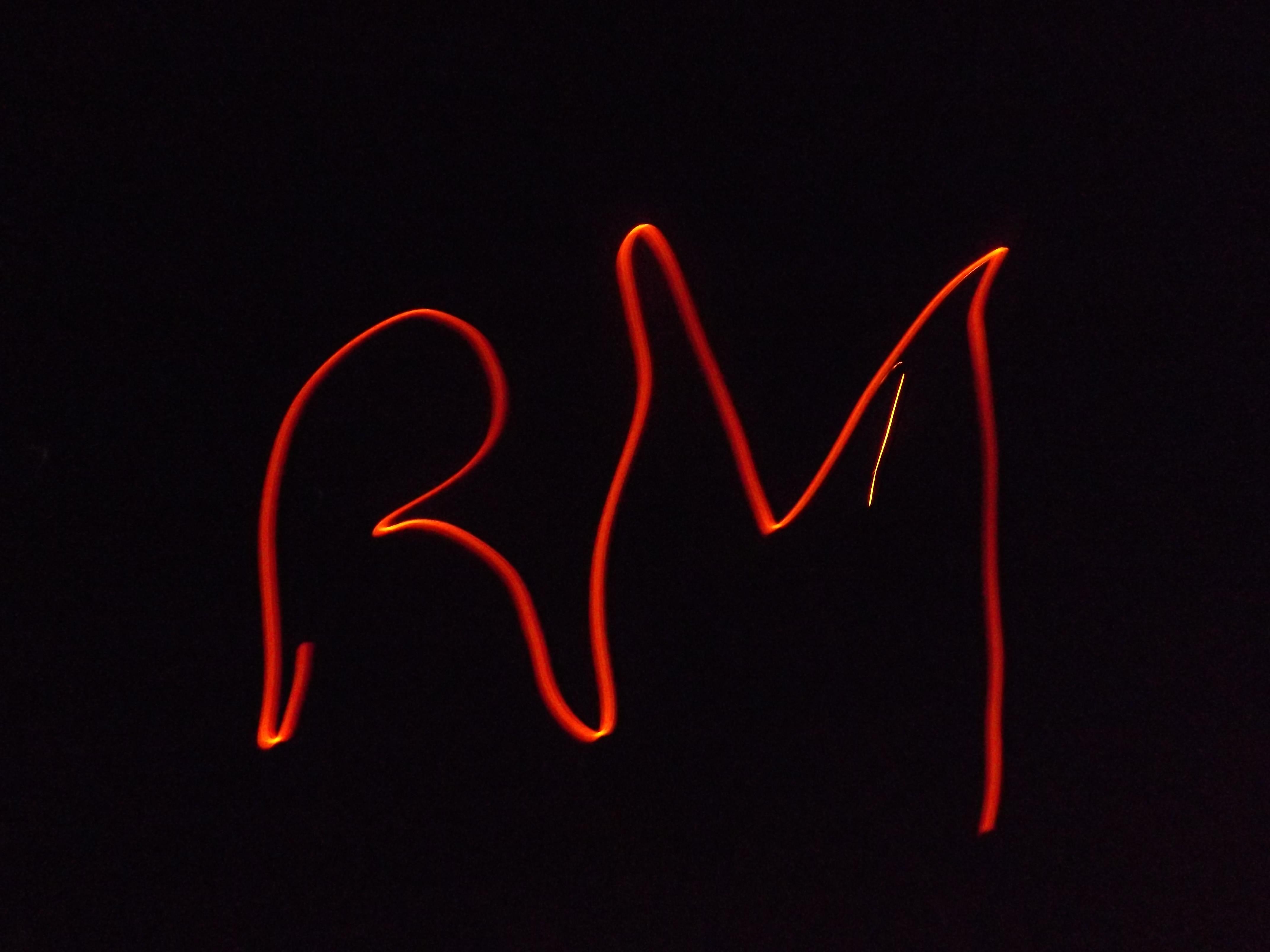 Roșia Montană, inițiale la focul de tabără