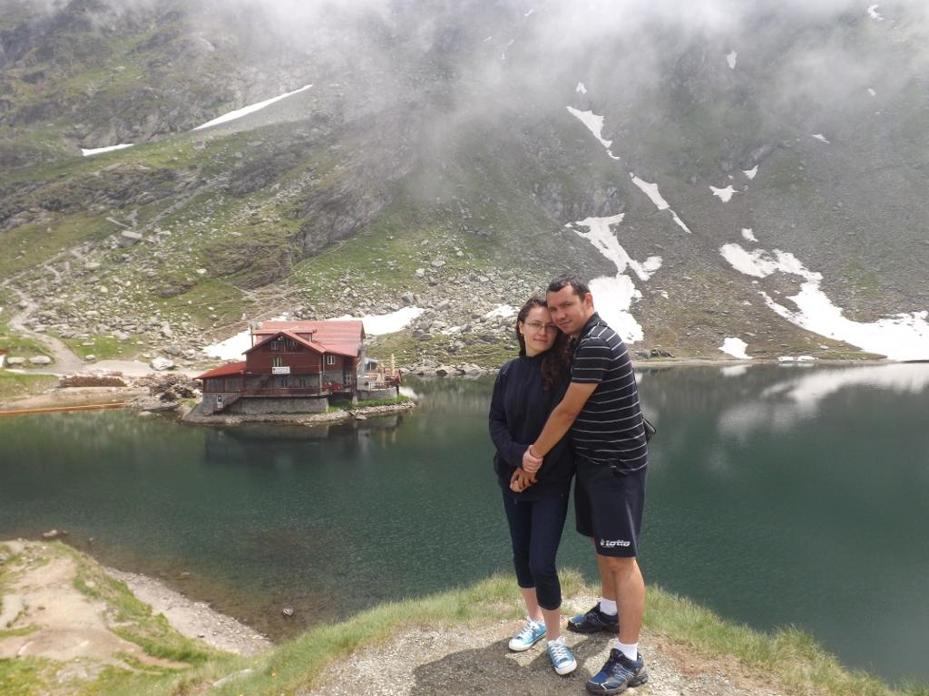 Andreea și Mihai la Bâlea Lac